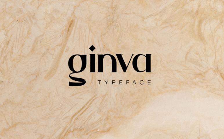 Ginva Serif Font