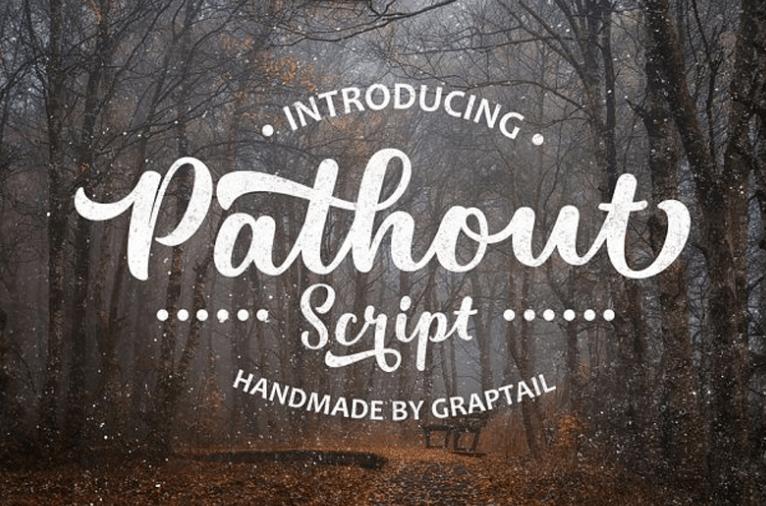 Pathout Script Font