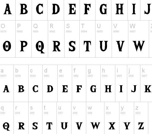 The Wild Breath Of Zelda Font - The Wild Breath Of Zelda Font Family Free Download