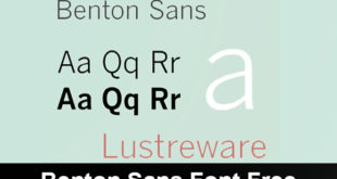 Benton Sans Font