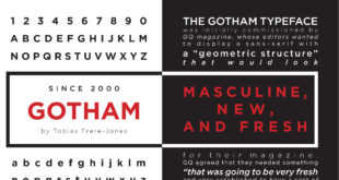 Gotham Font Family