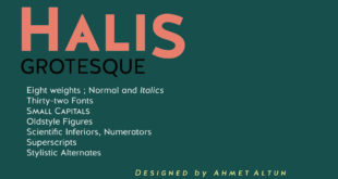 Halis Grotesque Font Free