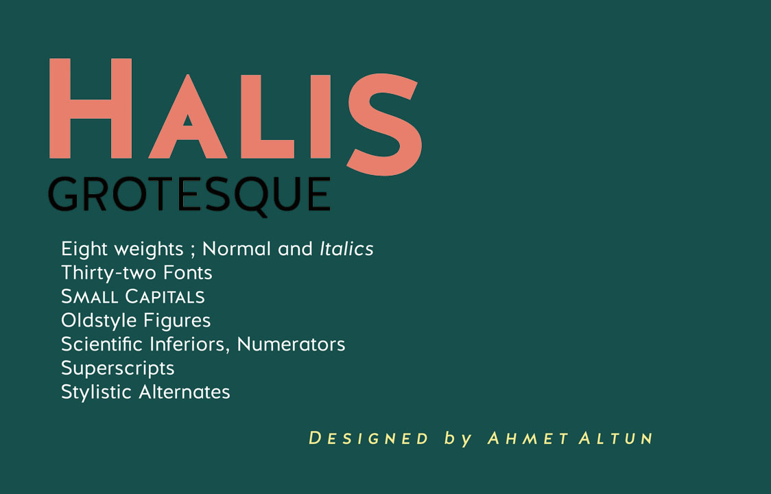 Halis Grotesque Font Free