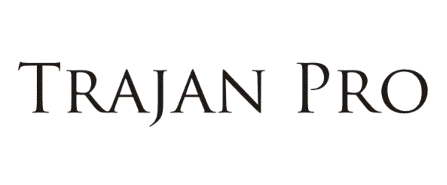 Trajan Pro Regular Font Free Download