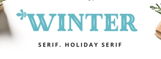 Made Winter Typeface