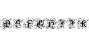 Gothic Flourish Font 310x165 - Gothic Flourish Font Free Download