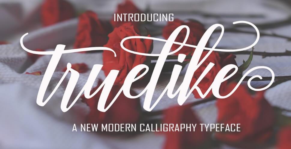 Truelike Font