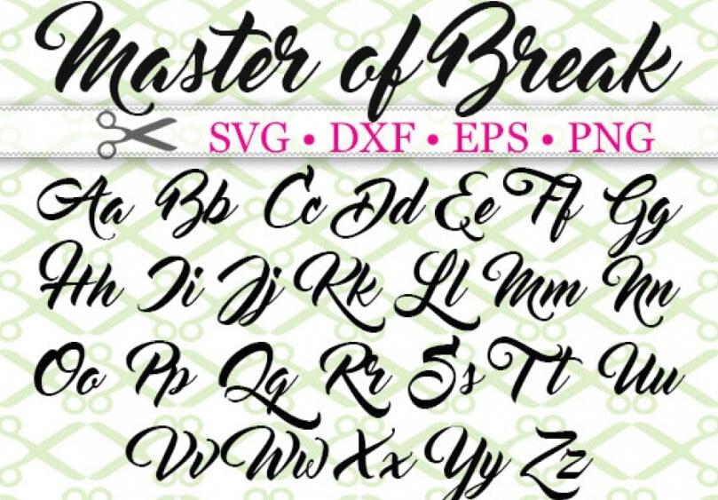 Master of Break Font Family Free Download