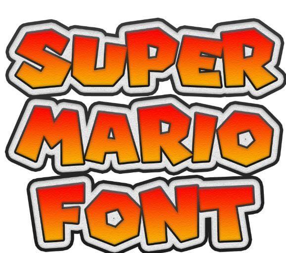Super Mario Font Free