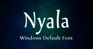 nyala font 310x165 - Nyala Font Free Download