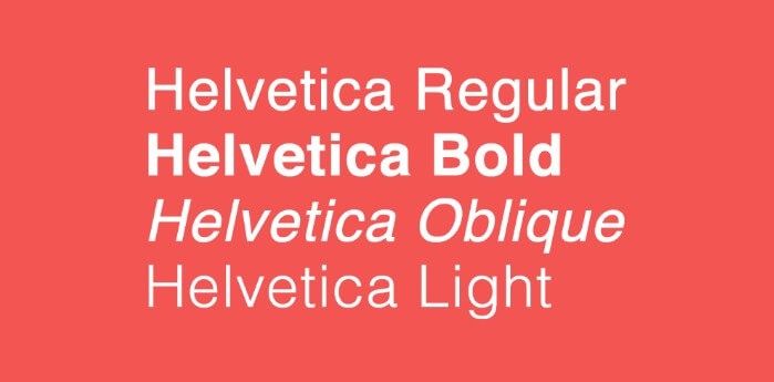 Helvetica Font Family Free Download