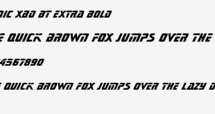 Sonic Extra Font
