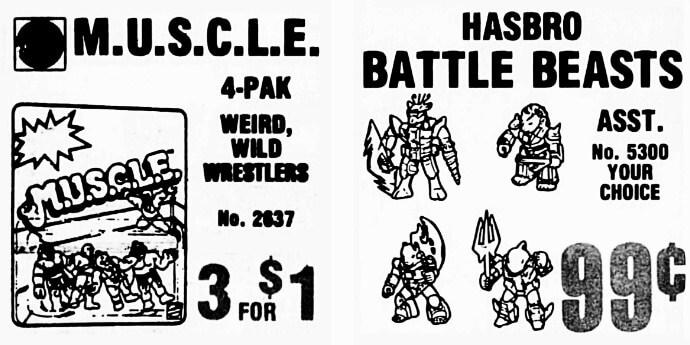 Battle Beasts Font