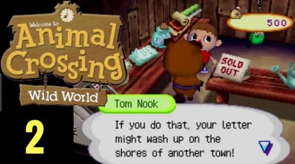 Animal Crossing Wild World Font