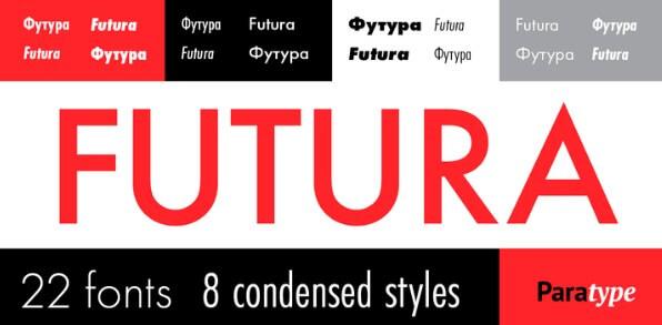 Futura Oblique Font