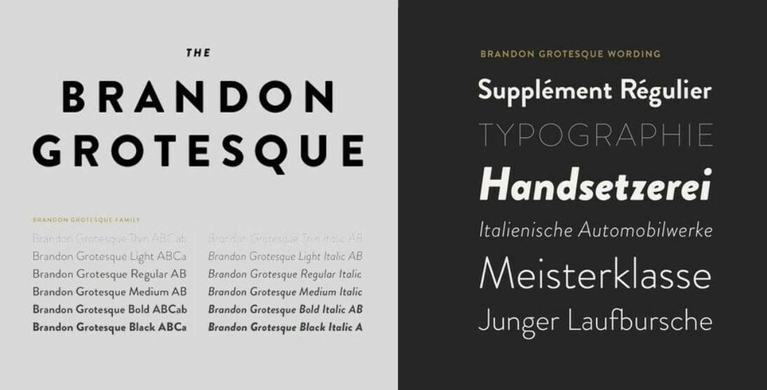 Brandon grotesque font free download mac download