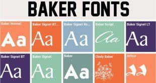 baker font 310x165 - Baker Signet Font Free Download
