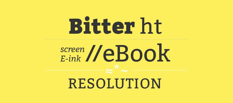 bitter font - Bitter Font Free Download