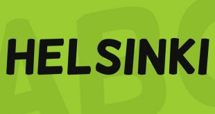 helsinki font 310x165 - Helsinki Font Free Download