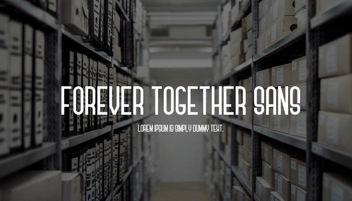 Forever Together Font