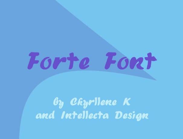 Forte Font