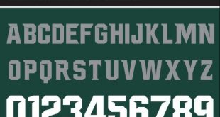 NCAA Michigan Spartans Font