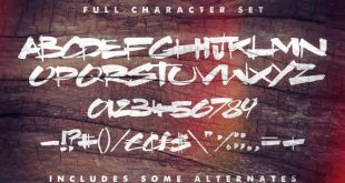 brother nature font 310x165 - Brother Nature Font Free Download