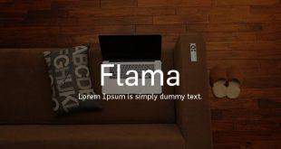 flama font 310x165 - Flama Font Free Download