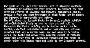 8 Bit Limit Font