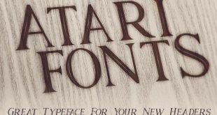 Atari Font
