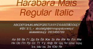 Harabara Mais Font