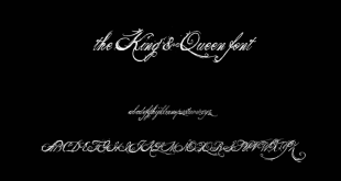 King And Queen Font