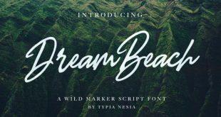 dream beach font 310x165 - Dream Beach Script Font Free Download